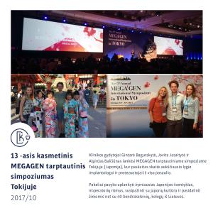 Megagen Implantacijos simpoziumas Tokijuje