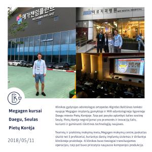 Megagen kursai, Pietų Korėja