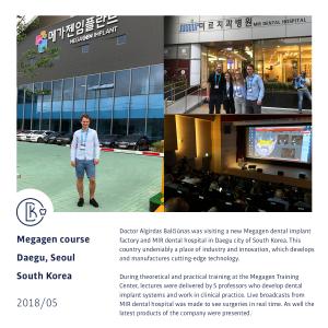 Megagen course, South Korea